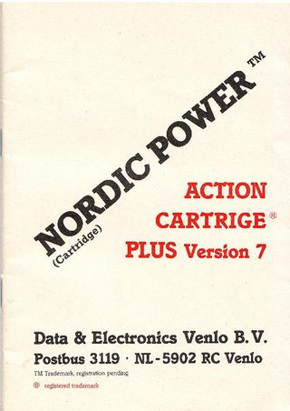 Nordic Power Manual Cover