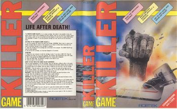 Game Killer Package Inlay