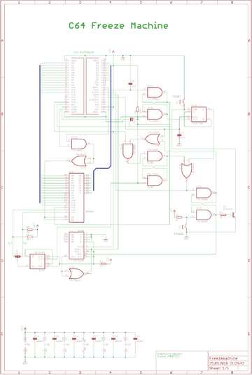 Freeze Machine schematics