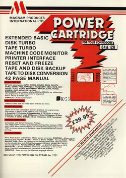 Power Cartridge Advert